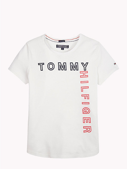 TOMMY HILFIGER T-shirt z logo Tommy Hilfiger - BRIGHT WHITE - TOMMY HILFIGER Topy i T-shirty - main image