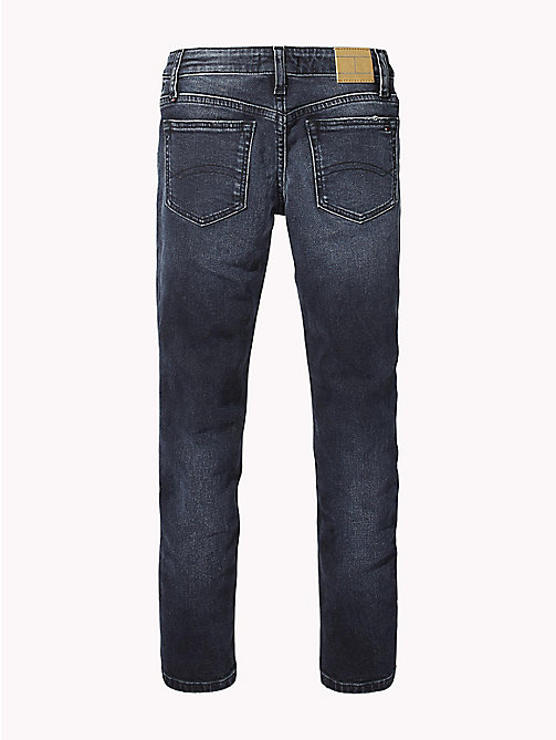 TOMMY HILFIGER Nora Skinny Fit Jeans - MOORE BLUE BLACK STRETCH - TOMMY HILFIGER Girls - detail image 1
