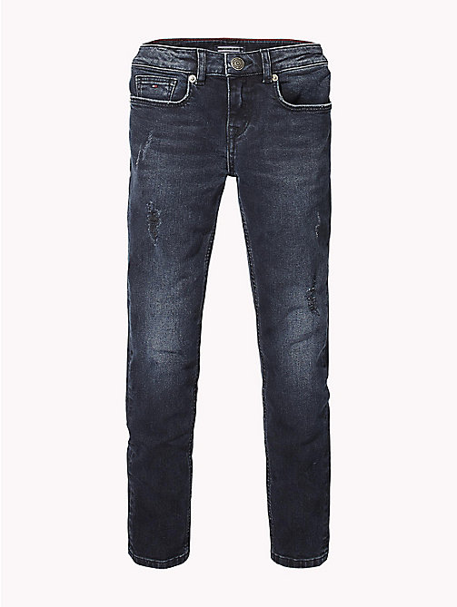 TOMMY HILFIGER Nora Skinny Fit Jeans - MOORE BLUE BLACK STRETCH - TOMMY HILFIGER Girls - main image