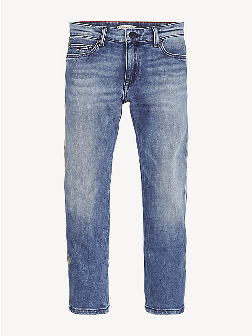 TOMMY HILFIGER Cropped Straight Leg Jeans - ATLANTIC BLUE STRETCH - TOMMY HILFIGER Jeans - main image