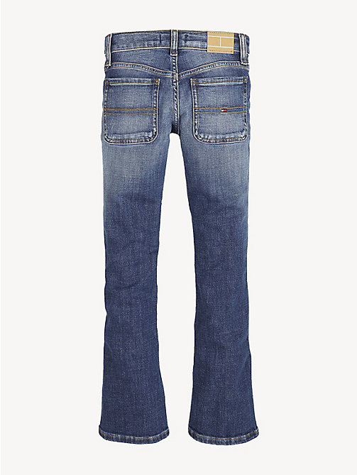 TOMMY HILFIGER Skinny Flare Leg Jeans - CRESTON BLUE STRETCH - TOMMY HILFIGER Trousers, Shorts & Skirts - detail image 1