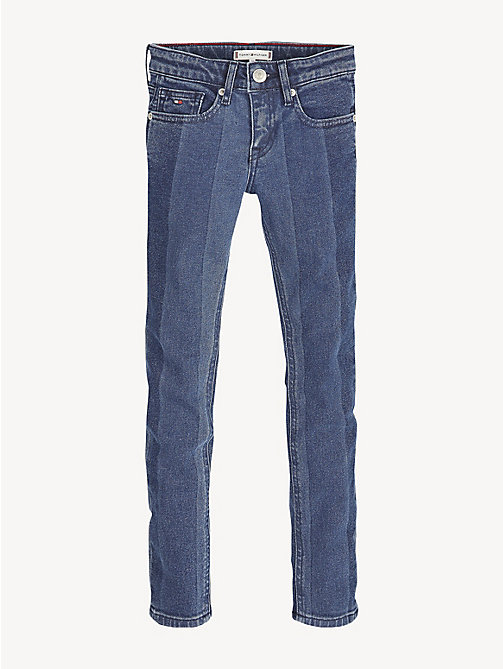 TOMMY HILFIGER Nora Skinny Fit Jeans - OAK STRIPE BLUE STRETCH - TOMMY HILFIGER Swimwear - detail image 1