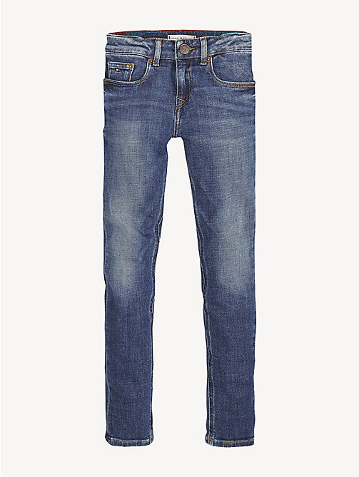 TOMMY HILFIGER Nora Skinny Fit Jeans - CRESTON BLUE STRETCH - TOMMY HILFIGER Trousers, Shorts & Skirts - main image