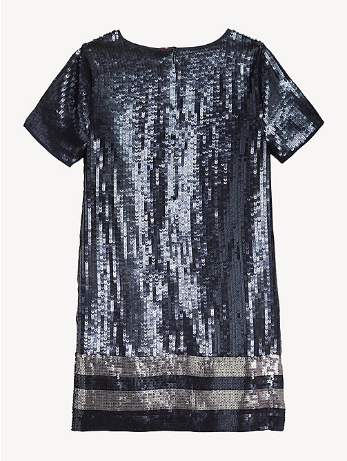 TOMMY HILFIGER Sequin Appliqué Dress - BLACK IRIS - TOMMY HILFIGER Dresses - detail image 1
