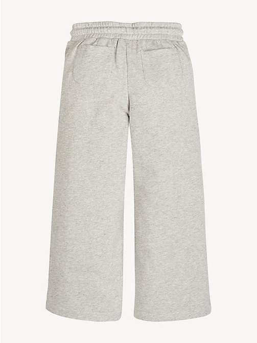 TOMMY HILFIGER Pantalon de survêtement jambe ample - LIGHT GREY HTR - TOMMY HILFIGER Pantalons, Shorts & Jupes - image détaillée 1
