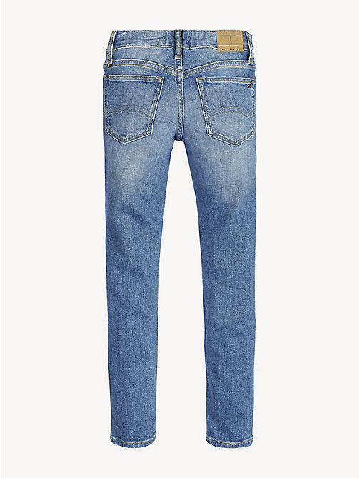 TOMMY HILFIGER Nora Distressed Skinny Fit Jeans - ICE BLUE DESTRUCTED STRETCH - TOMMY HILFIGER Jeans - detail image 1