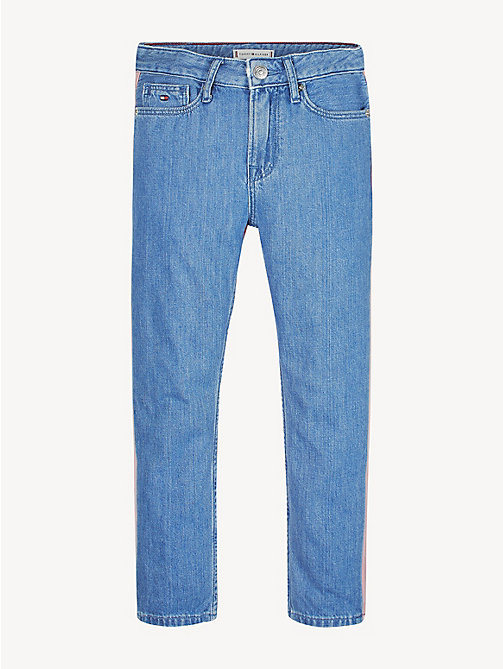 59ffbc8a43d6 TOMMY HILFIGERIzzy High Rise Cropped Jeans