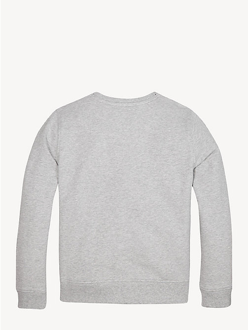 TOMMY HILFIGER Essential sweatshirt met logo - LIGHT GREY HTR - TOMMY HILFIGER Sweatshirts & Hoodies - detail image 1