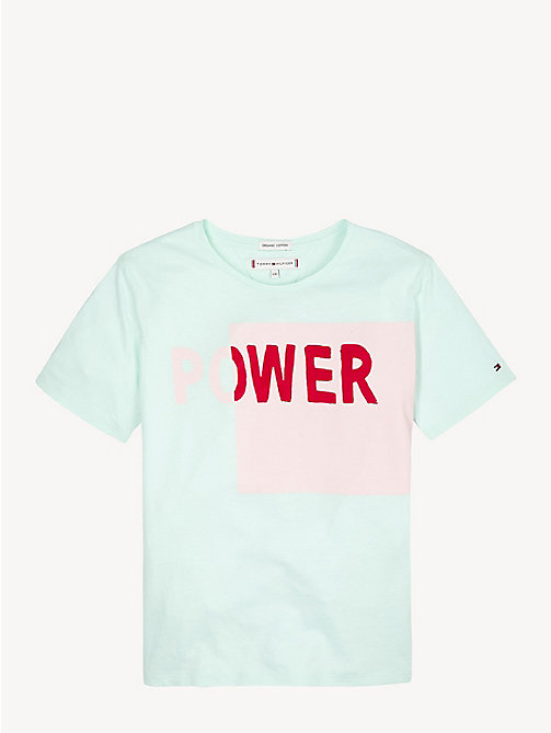 TOMMY HILFIGERColour-Blocked Slogan T-Shirt 0e6e6c87b