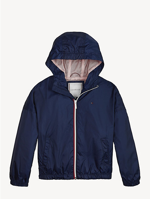 TOMMY HILFIGER Essential Lightweight Storm Jacket - BLACK IRIS - TOMMY HILFIGER Coats & Jackets - main image