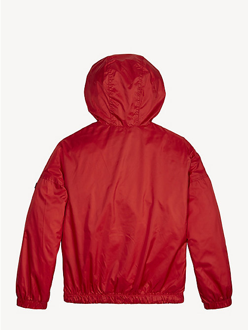 TOMMY HILFIGER Essential Lightweight Storm Jacket - TRUE RED - TOMMY HILFIGER Coats & Jackets - detail image 1