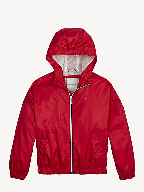 TOMMY HILFIGER Essential Lightweight Storm Jacket - TRUE RED - TOMMY HILFIGER Coats & Jackets - main image