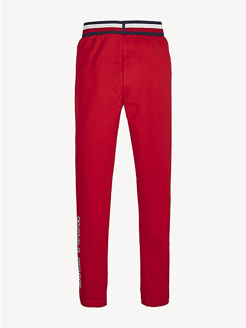 TOMMY HILFIGER Essential Logo Leggings - TRUE RED - TOMMY HILFIGER Trousers, Shorts & Skirts - detail image 1
