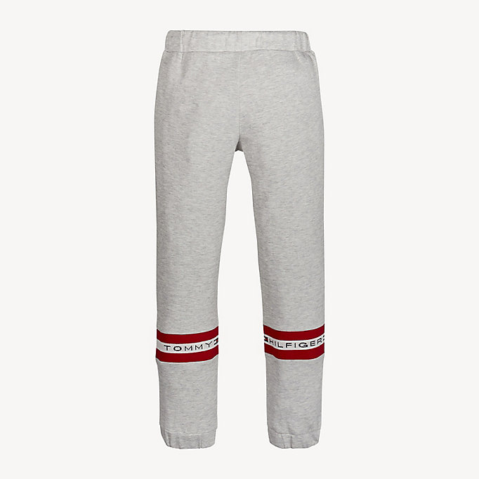 501122d479489a Logo Tape Joggers | LIGHT GREY HTR | Tommy Hilfiger
