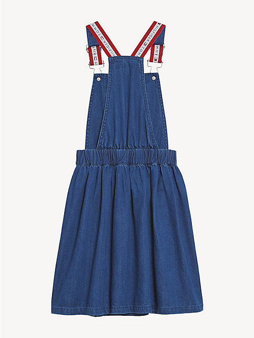 TOMMY HILFIGER Denim Pinafore Dress - DENIM - TOMMY HILFIGER Dresses - detail image 1