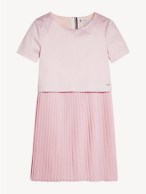 a3a50a60600ae7 TOMMY HILFIGERPlissé Layered Dress