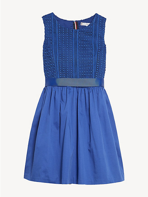 7d793a9a5ab2 TOMMY HILFIGEREmbroidered Lace Top Dress