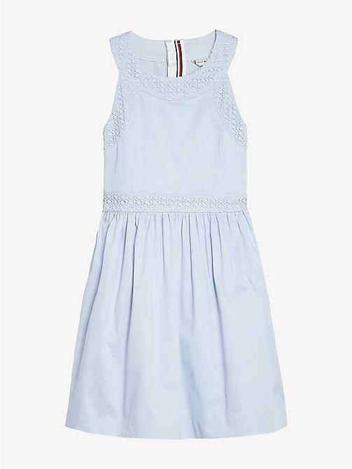 939a58a793cf TOMMY HILFIGERLace Trim Halter Dress