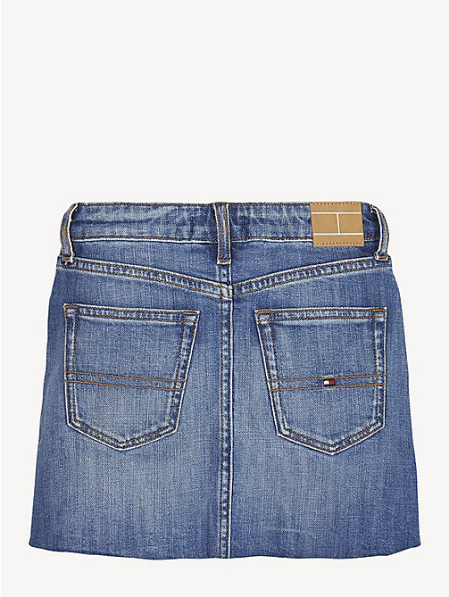 TOMMY HILFIGER Stretch Cotton Denim Skirt - FIELD AUTHENTIC MID COMFORT - TOMMY HILFIGER Trousers, Shorts & Skirts - detail image 1