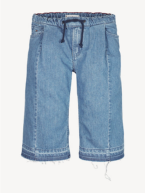 TOMMY HILFIGER Denim Culotte Shorts - SKY AUTHENTIC BLUE RIGID - TOMMY HILFIGER Jeans - detail image 1