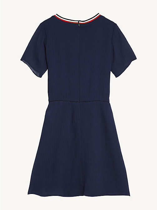 TOMMY HILFIGER Essential Sporty Dress - BLACK IRIS - TOMMY HILFIGER Dresses - detail image 1