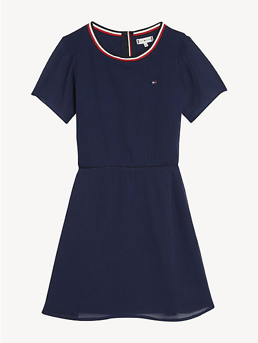 TOMMY HILFIGER Essential Sporty Dress - BLACK IRIS - TOMMY HILFIGER Dresses - main image