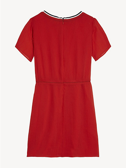 TOMMY HILFIGER Essential Sporty Dress - TRUE RED - TOMMY HILFIGER Dresses - detail image 1