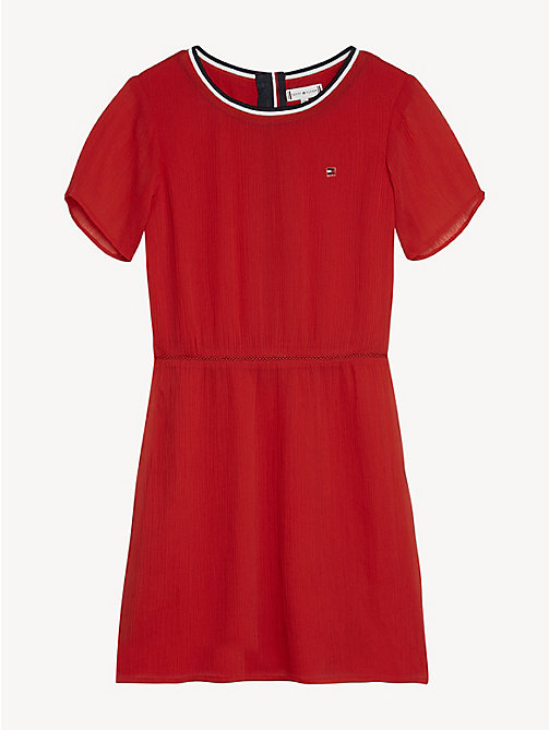 TOMMY HILFIGER Essential Sporty Dress - TRUE RED - TOMMY HILFIGER Dresses - main image