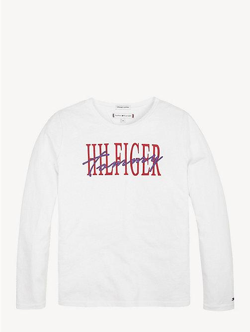 c53e75730d42 TOMMY HILFIGERT-shirt Essential a maniche lunghe in cotone