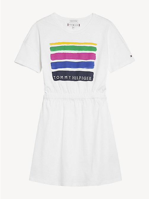 d9fdf5f931 TOMMY HILFIGERMulticolour Stripe Summer Dress