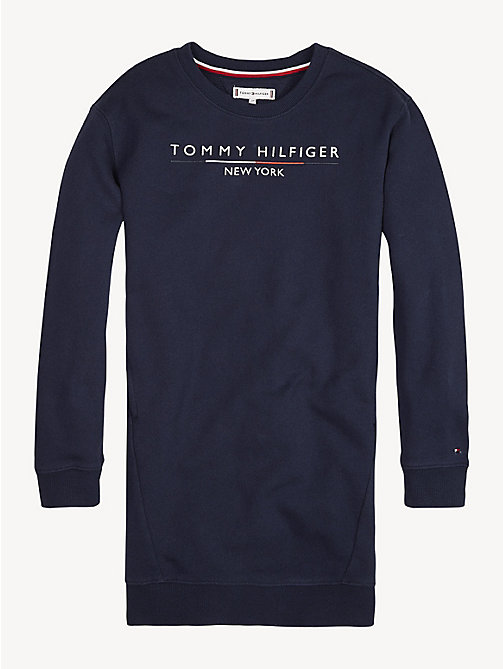 7ddbd8faa TOMMY HILFIGERLong Sleeve Logo Sweatshirt Dress. From £50.00. NEW