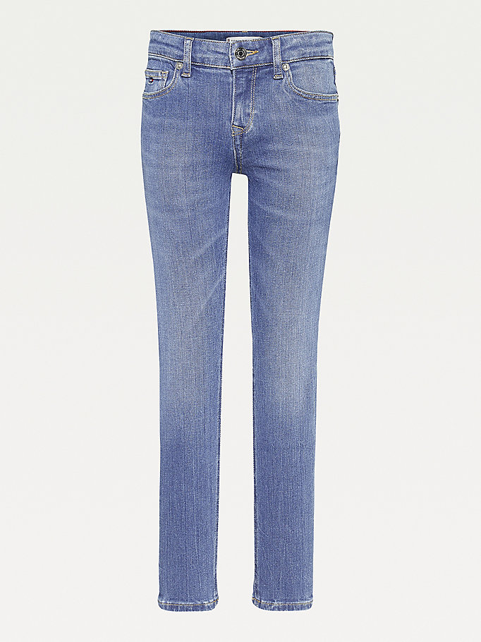 denim nora skinny faded jeans for girls tommy hilfiger