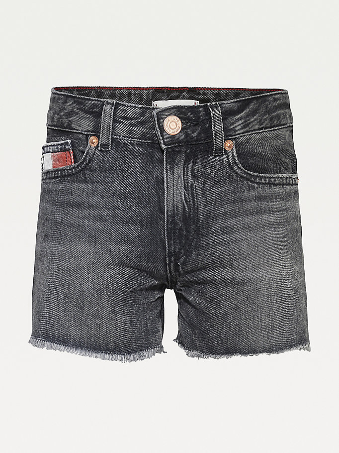 denim harper shorts for girls tommy hilfiger