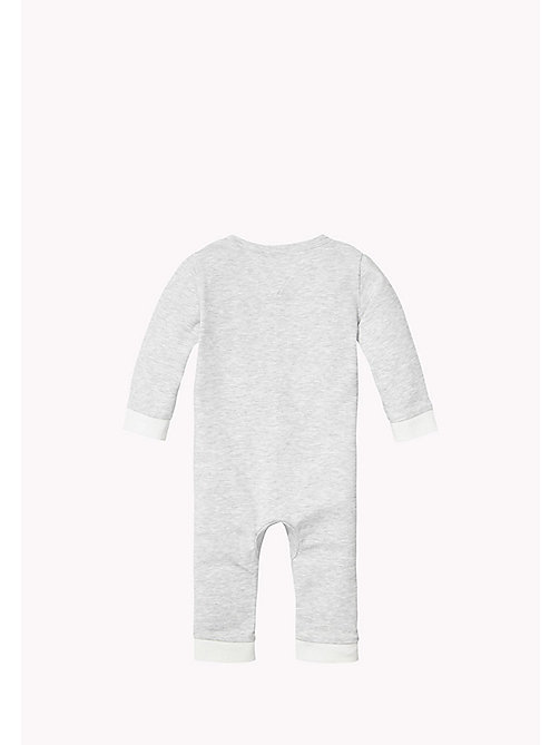 Heathered Coverall - GREY HEATHER - TOMMY HILFIGER Babies - detail image 1