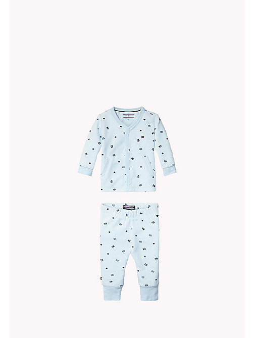 2-piece Logo Set - BABY BLUE - TOMMY HILFIGER Babies - main image
