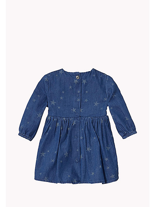 Denim Dress - LIGHT BLUE - TOMMY HILFIGER Babies - detail image 1