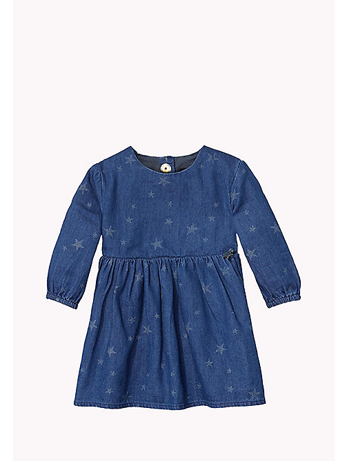 Denim Dress - LIGHT BLUE - TOMMY HILFIGER Babies - main image