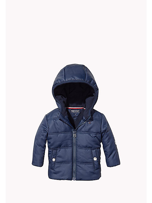 Hooded Jacket - BLACK IRIS - TOMMY HILFIGER Babies - main image