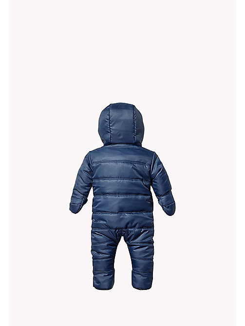 Hooded Ski Suit - BLACK IRIS - TOMMY HILFIGER Babies - detail image 1