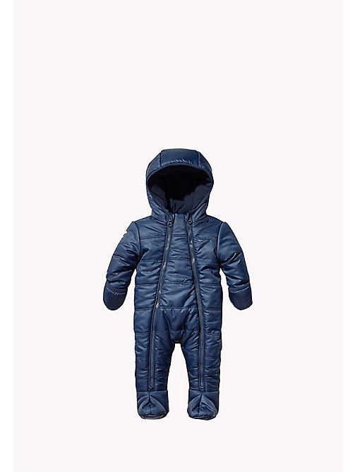 Hooded Ski Suit - BLACK IRIS - TOMMY HILFIGER Babies - main image