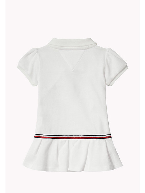 TOMMY HILFIGER Polo Baby Dress - BRIGHT WHITE - TOMMY HILFIGER Babies - detail image 1