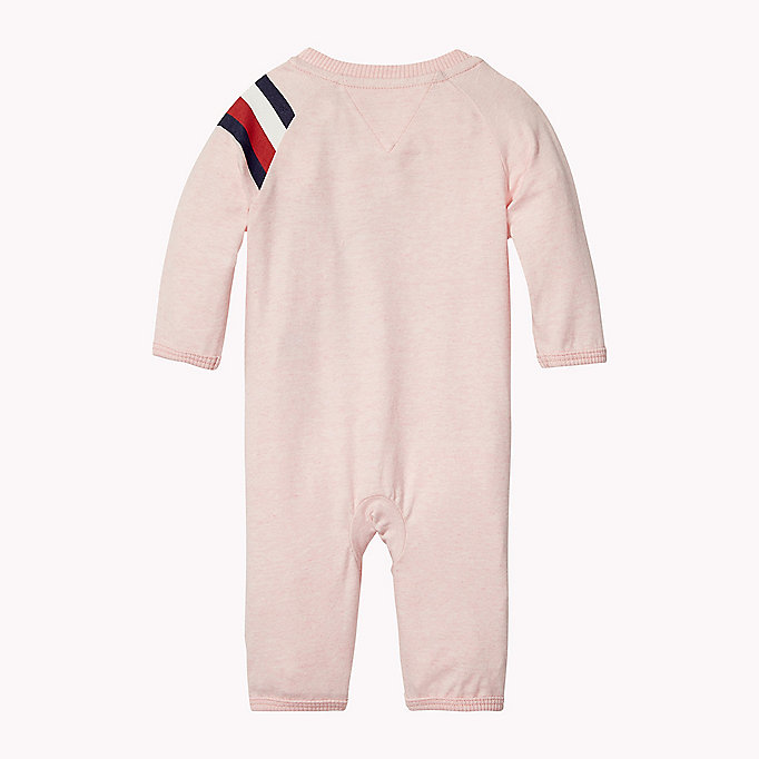 TOMMY HILFIGER Logo Print All-In-One - BLACK IRIS - TOMMY HILFIGER Babies - detail image 1