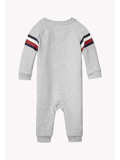 TOMMY HILFIGER Baby Coverall - LIGHT GREY HTR - TOMMY HILFIGER Boys - detail image 1