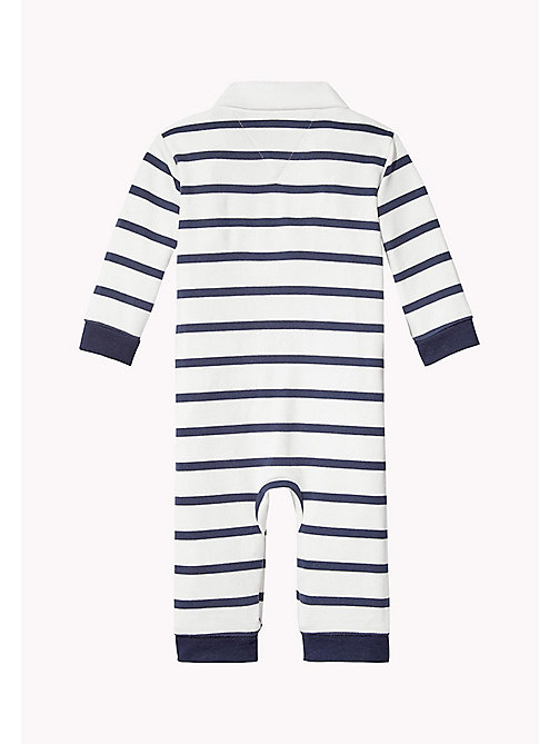 TOMMY HILFIGER Stripe Overall - BLACK IRIS - TOMMY HILFIGER Boys - detail image 1
