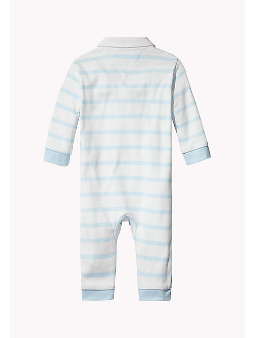 TOMMY HILFIGER Stripe Overall - BABY BLUE - TOMMY HILFIGER Boys - detail image 1
