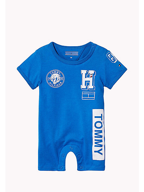 TOMMY HILFIGER Baby Romper - NAUTICAL BLUE - TOMMY HILFIGER Boys - main image
