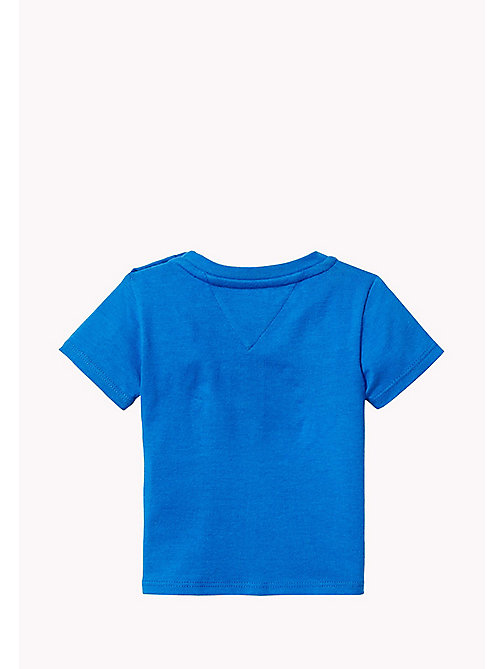 TOMMY HILFIGER T-Shirt mit 'Stars-and-Stripes'-Logo-Print - NAUTICAL BLUE - TOMMY HILFIGER Babys - main image 1