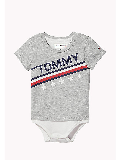 TOMMY HILFIGER Baby-Body - LIGHT GREY HTR - TOMMY HILFIGER Jungen - main image