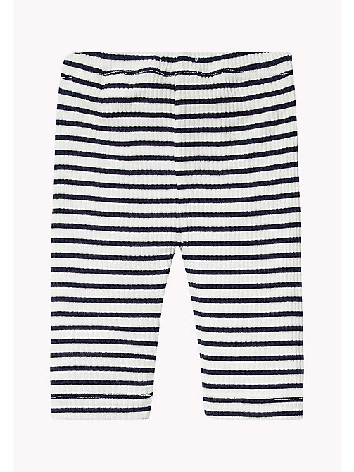 TOMMY HILFIGER Stripe Trousers - BLACK IRIS - TOMMY HILFIGER Boys - detail image 1
