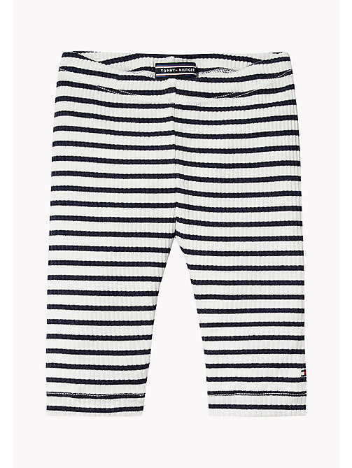 TOMMY HILFIGER Stripe Trousers - BLACK IRIS - TOMMY HILFIGER Boys - main image